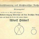 Anschluss Rakouska 1938