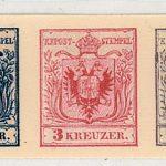 170 let poštovní známky na našem území